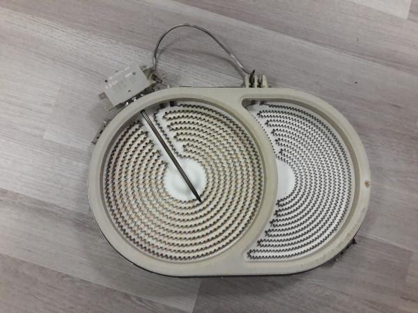 AEG 6130M-MN Strahlenheizkörper Bräterzone, 661331930, gebraucht, Kochplatten, Erkelenz
